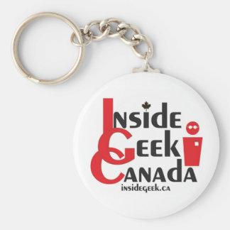 Inside Geek Canada Keychain