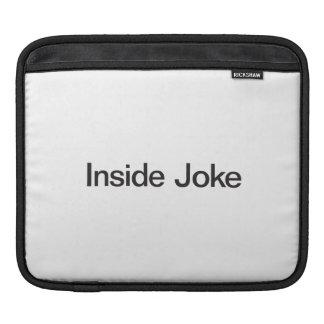 Inside Joke iPad Sleeves