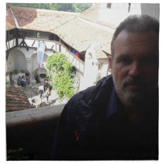 Inside look at Bran Castle. Dracula? Napkin