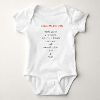 Inside Me I've Got: T-shirts