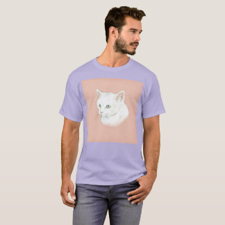 Inside My Chest Felt Gato Watercolor Rare T-Shirt