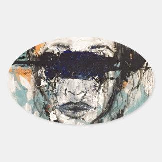 Inside My Head Oval Sticker