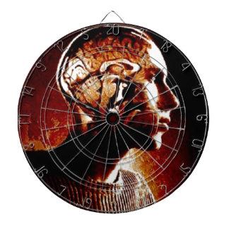Inside my Head, Showing Brain Activity Dartboard