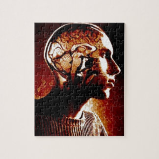 Inside my Head, Showing Brain Activity Jigsaw Puzzle