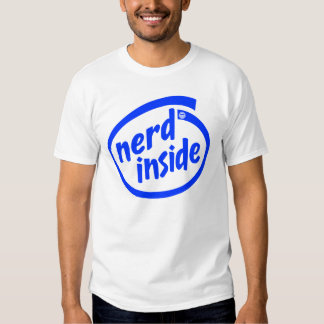 Inside (nerd) t shirts