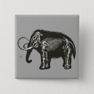 Inside of a Mammoth No. 10 15 Cm Square Badge