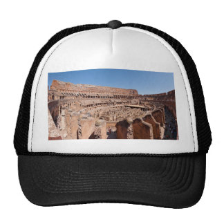 Inside of the Rome Colosseum Panoramic Portrait Cap