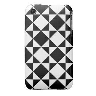 INSIDE-OUT! (a black & white pattern) ~ iPhone 3 Covers