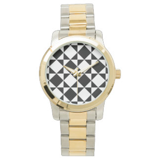 INSIDE-OUT! (a black & white pattern) ~ Wrist Watch