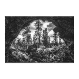 Inside Out a lava tube canvas