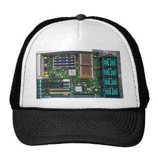 inside server computer trucker hats