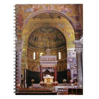 Inside the church yeah notebook