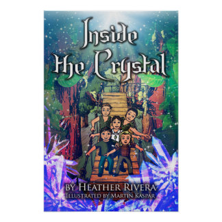 Inside the Crystal Book Cover Poster