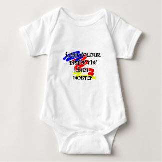Inside the Lines Baby Bodysuit