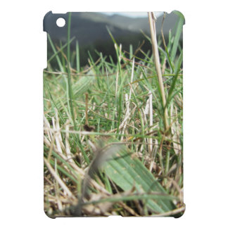 Inside, the lush green grass sprouts everywhere iPad mini cover