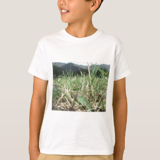 Inside, the lush green grass sprouts everywhere T-Shirt