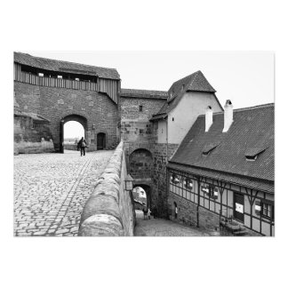 Inside the Nuremberg Fortress Photo Print