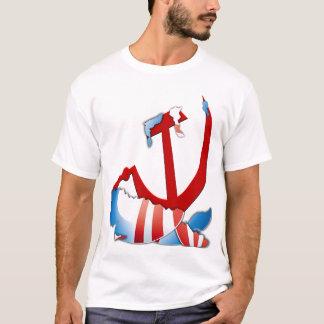 Inside the Obama Logo - Anti Obama T-Shirt