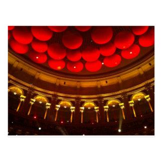 Inside the Royal Albert Hall Postcard