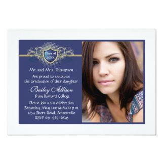 Insignia Photo Graduation Invitation
