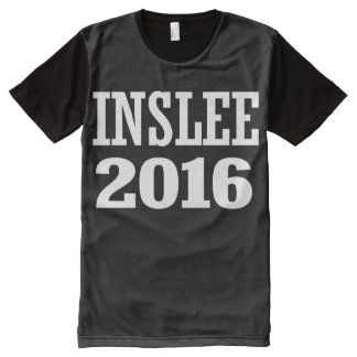 Inslee - Jay Inslee 2016 All-Over Print T-Shirt