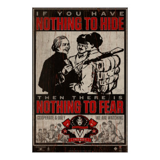 INSOC 1984 Propaganda Print