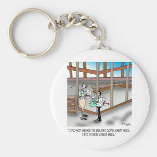 Inspector Cartoon 6382 Key Ring