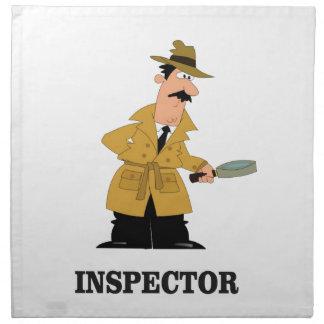 inspector man napkin