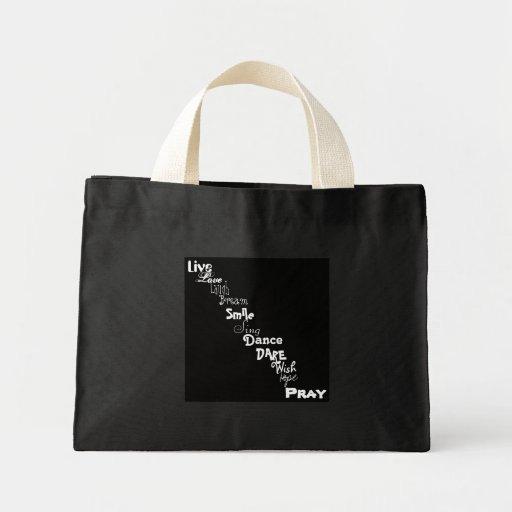 Inspiration Bag (White Letters)