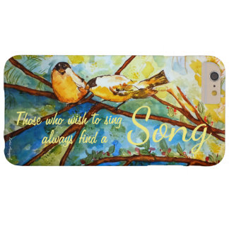 Inspiration Bird Watercolor Art Phone Case