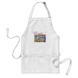 Inspiration Bloom Floral Watercolor Art Apron