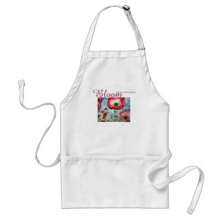 Inspiration Bloom Poppies Art Apron