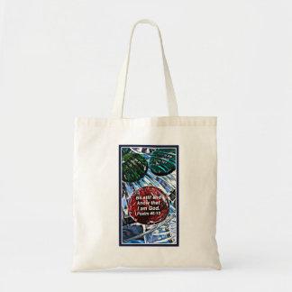 inspiration budget tote bag