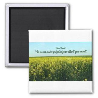 Inspiration by Eleanor Roosevelt Refrigerator Magnet