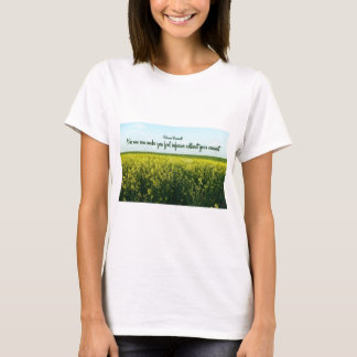 Inspiration by Eleanor Roosevelt T-Shirt
