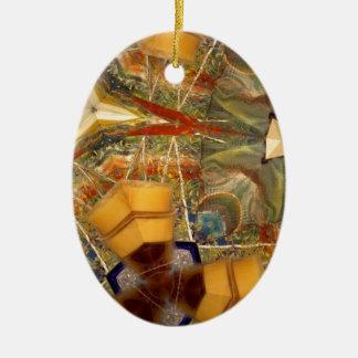 Inspiration Ceramic Oval Decoration