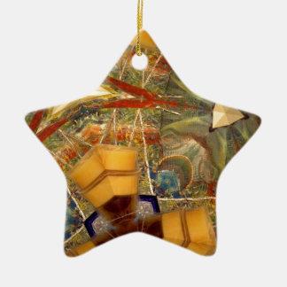 Inspiration Ceramic Star Decoration