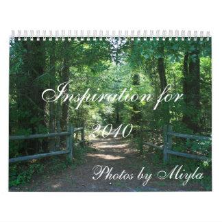 Inspiration for 2010 wall calendar
