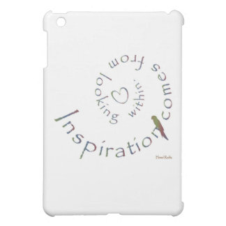 Inspiration from within case for the iPad mini