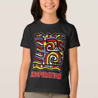 """Inspiration"" Girls' American Apparel T-Shirt"
