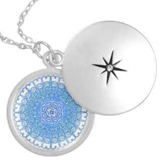 "Inspiration Mandala - ""Joy"" Locket Necklace"