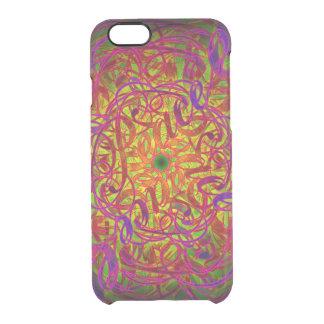 "Inspiration Mandala - ""Peace"" Clear iPhone 6/6S Case"