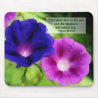 Inspiration - Morning Glories Mousepad