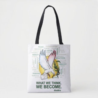 Inspiration of Peace - Tote Bag