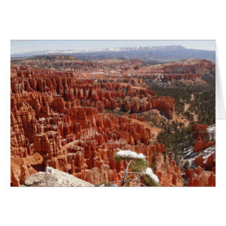 Inspiration Point at Bryce Canyon I Card