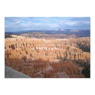 Inspiration Point, Bryce Canyon, Utah 13 Cm X 18 Cm Invitation Card