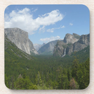 Inspiration Point in Yosemite National Park Beverage Coaster