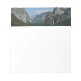 Inspiration Point in Yosemite National Park Notepads