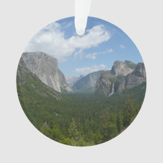 Inspiration Point in Yosemite National Park Ornament