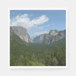 Inspiration Point in Yosemite National Park Paper Napkin